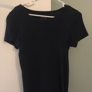 J crew navy perfectly fitted tee